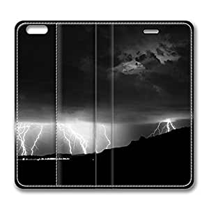 iPhone 6 4.7inch Leather Case - Lightning Fashion Luxury Protective Slim Fit Skin Leather Cover For Iphone 6 [Stand Feature] [Slim - fit] Flip Leather Case Cover for New iPhone 6