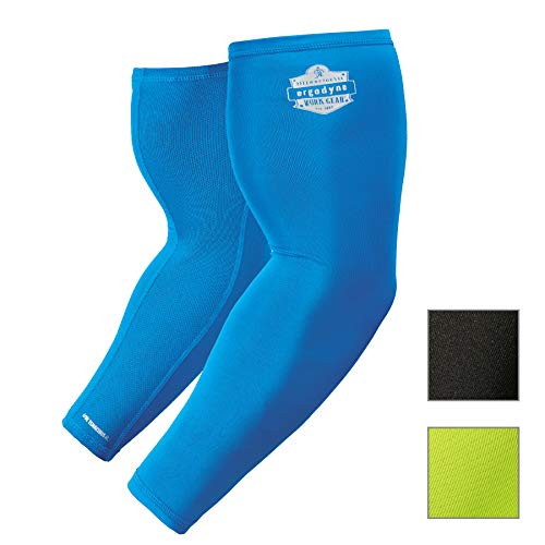 (Cooling Arm Sleeves, Sized for Men &Women, UPF 50+ Sun Protection, Ergodyne Chill Its 6690)