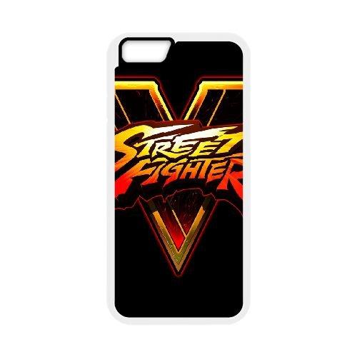 Street Fighter V Fighting Logo 143 coque iPhone 6 Plus 5.5 Inch cellulaire cas coque de téléphone cas blanche couverture de téléphone portable EEECBCAAN03291