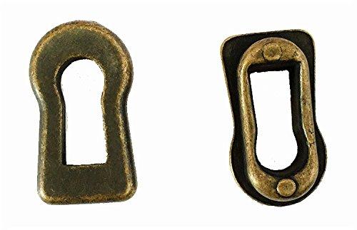 antrader Schl/üsselloch Cover Metall bronze Tone f/ür M/öbel Lock Dekoration 12/St/ück