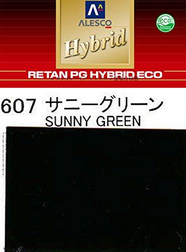 コスト削減に!レタンPG ハイブリッド エコ #607 サニーグリーン3kg /自動車用 1液 ウレタン 塗料 関西ペイント ハイブリット B072NBFHZZ