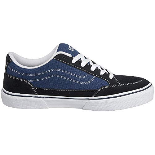 Vans Men Bearcat Sneakers Skate Shoes (6.5, Navy/STV Navy)
