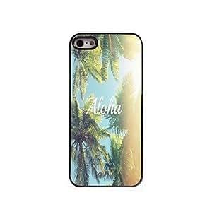 ZXC Aloha Design Aluminum Hard Case for iPhone 5/5S