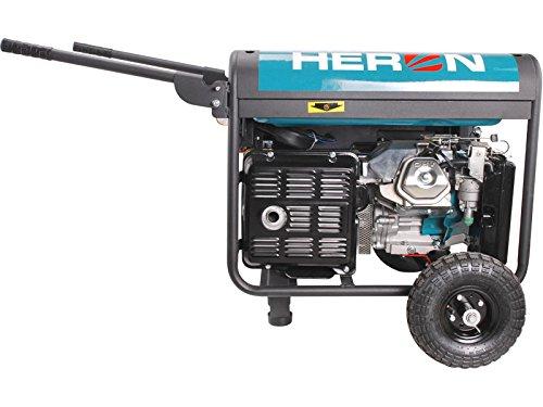 HERON Generador de energía de soldadura 220A, gasolina 14HP, 5,5kW, EWH 220: Amazon.es: Bricolaje y herramientas