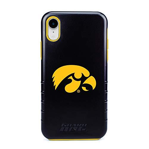 Guard Dog Iowa Hawkeyes - Hybrid Case for iPhone XR - Black