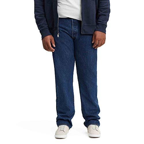 Levi's Men's Big and Tall 501 Original Fit Jean, Dark Stonewash, 44W x 32L (Levis 501 Jeans Men)