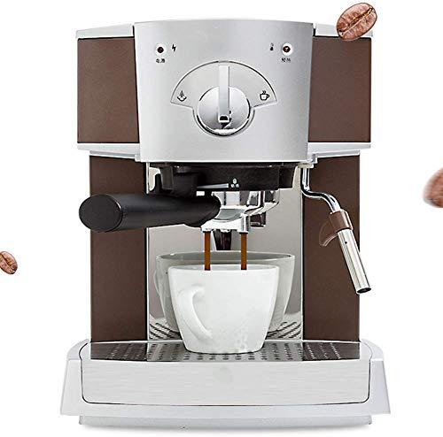 Nuokix Doméstico Cafetera Espresso Comercial/Hogar café máquina semiautomática Italiana Cafetera