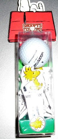 Snoopy Ball (Snoopy Golf Set Ball Divot Marker Tees Woodstock)