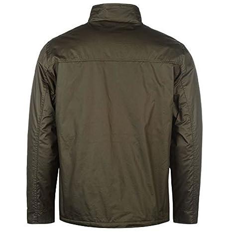 Pierre Cardin Encerado Chaqueta para Hombre Caqui Chaquetas Abrigos Outerwear, Caqui, Medium: Amazon.es: Deportes y aire libre