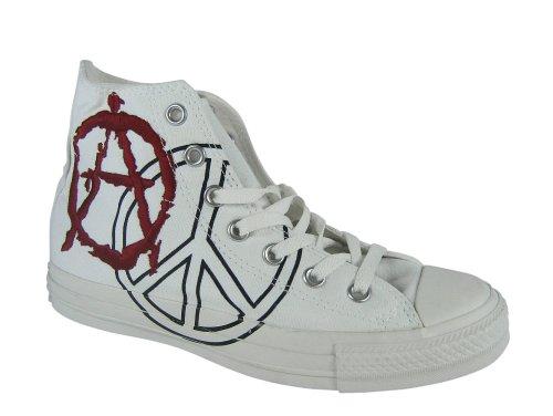 Converse All Star HI Spec Anarchy Chucks Schuhe weiss / rot 1Z420 Wei