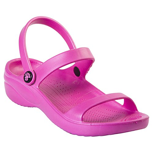 DAWGS Women's Ladies 3-Strap Sandal,Hot Pink,9 M US from DAWGS