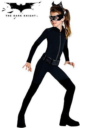 Dark Halloween Costumes For Girls - Batman Dark Knight Rises Tween Catwoman Costume - Tween Medium