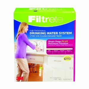 Filtrete Air Purifiers 4US-MAXL-S01 Filtrete High Performance Drinking Water System44; Pink by Filtrete