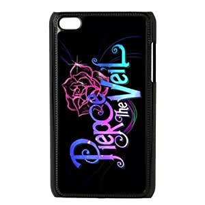 Masq Protective Plastic Back Case for iPod Touch 4 (4th Generation) - Pierce The Veil