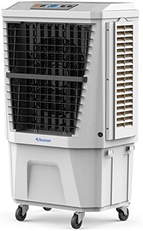 SEASON Climatizador nebulizador Ventilador evaporativo Gran caudal ...