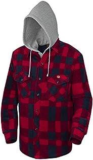 Pioneer Quilted Hooded Polar Fleece Shirt