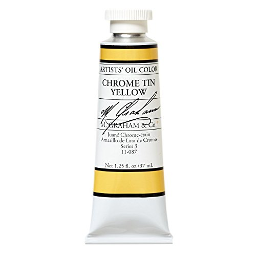 Chrome Tin (M. Graham & Co. Oil Paint, Chrome Tin Yellow)