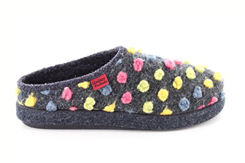 8 5 UK 32 14 Large 0 MADE to Slippers 12 IN to Felt 50 Comfortable UK with footbed EU amp; EU to Petite Medium Bleu AM001 sizes Andres SPAIN 31 to UNISEX CHILD Machado 26 BqpUaa