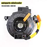 FidgetGear Genuine New for Toyota Lexus OEM 84306-48030 Air Bag Spiral Cable Clock Spring