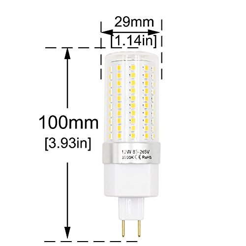 15w g8 5 led light bulb lustaled 120v  220v g8 5 double pin