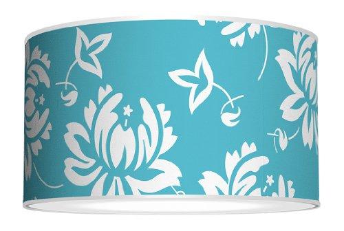 Seascape Drum A Shaheen Bud Vase Aqua Lamp 12x12x12 12x12x12