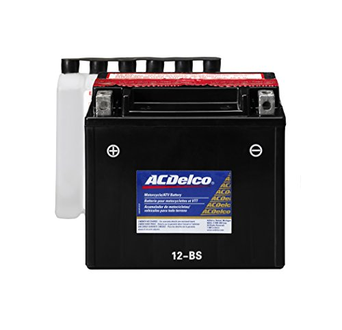 12b Battery Pack (ACDelco ATX12BS Specialty AGM Powersports JIS 12-BS Battery)