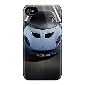 Durable Case For The Iphone 4/4s- Eco-friendly Retail Packaging(lotus Elise Club Racer 2012)