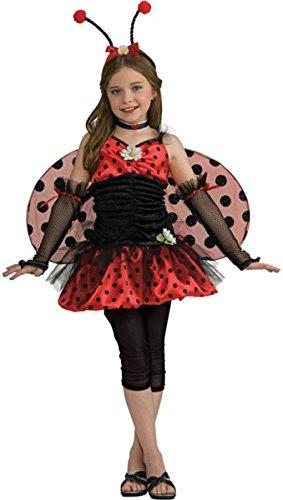 Rubie's Little Girl's Ladybug Tween Costume 2-6