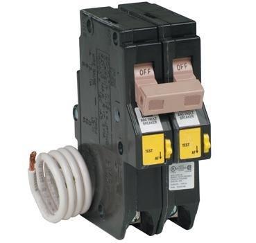 Cutler-Hammer, Eaton, Westinghouse ch sereis 2 pole 20 amp arc fault circuit breaker