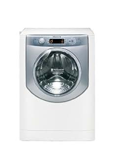Hotpoint AQLF9D 69 U Independiente Carga frontal 9kg 1600RPM Color blanco - Lavadora (Independiente, Carga frontal, Color blanco, Derecho, LCD, 9 kg)
