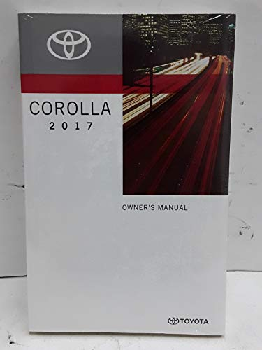 2017 Toyota Corolla Owners Manual User Guide Set