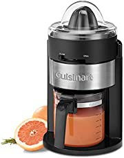 Cuisinart Citrus Juicer with Glass Carafe, CCJ-900C, Black, 22 oz