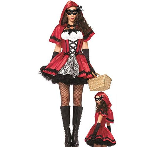 Party Diy Decorations - Halloween Costumes Cosplay Little Red Riding Hood Fantasy Game Uniforms Fancy Dress Outfit - Party Decorations Party Decorations Artificial Rainbow Fantasy Outfit