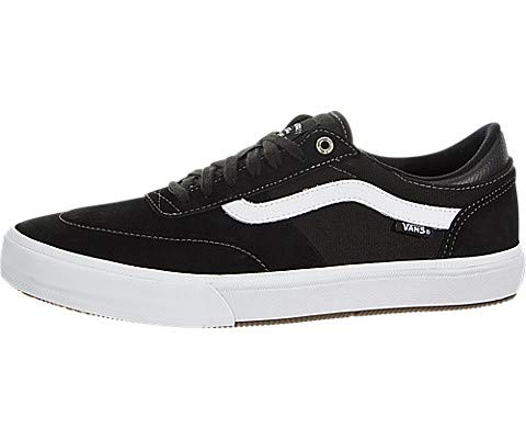9692e8a841 Galleon - Vans Men s Gilbert Crockett Pro (Chambray) Skate Shoe Black White  8.5 D(M) US