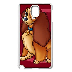 Samsung Galaxy Note 3 Cell Phone Case Covers White Lady and the Tramp II Scamp's Adventure Character Annette MSU7160366