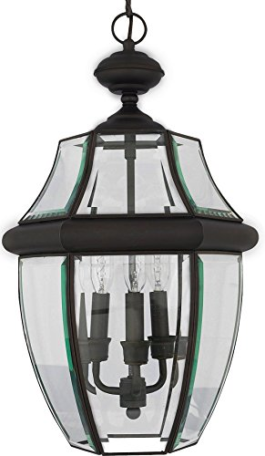 Luxury Colonial Outdoor Pendant Light, Large Size: 21