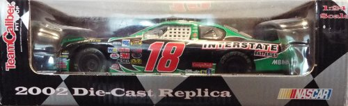 (Bobby Labonte #18 Interstate Batteries, 2002 Die-Cast Replica, TeamCaliber Pit Stop 1:24 Scale NASCAR)