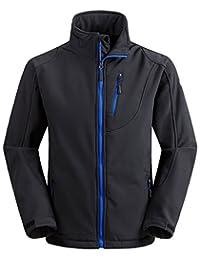 Wantdo Men's Softshell Jacket Outdoor Windproof Sports Outerwear
