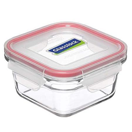 Glasslock Cuadrado Serie Horno Seguro de Alimentos envases de ...