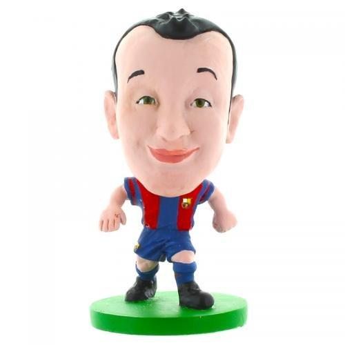 F.C Barcelona–Figura Soccerstarz (Iniesta–Toon estilo)
