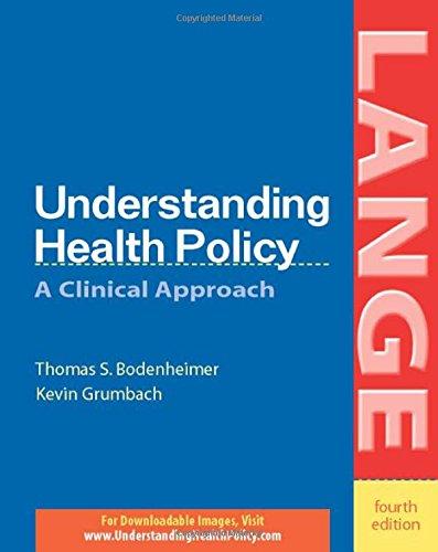 Understanding Health Policy (LANGE)