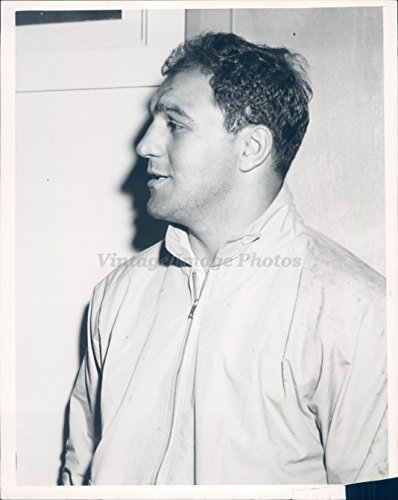 Photo Rocky Marciano Professional American Boxer Portrait Sports Title ()