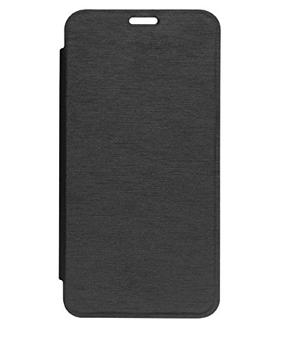 on sale 2bbb2 84bb4 GSMOBILE Synthetic Leather Normal Flip Cover for Micromax Canvas Nitro  A310/A311(Black)