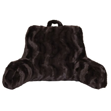 Better Homes and Gardens Beautyful Soft Faux Fur Backrest Pillow (Chocolate) from BHG