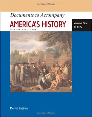 Amazon documents to accompany americas history volume i to amazon documents to accompany americas history volume i to 1877 9780312454425 james a henretta melvin yazawa books fandeluxe Image collections