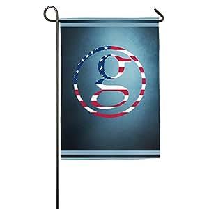 gbaab Garth Brooks cantante bandera Logo deportivos ocasiones, Bienvenido a casa bandera
