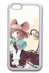 Anime Girls 4 Cute Hard For LG G2 Case Cover Case Hard shell White Cases