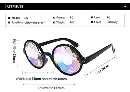 Experiencia visual Apoyos Elegante Difractada colores Moda Divertida 3 fotogr Caleidoscopio Unisex Adeshop wTqAU8zxA