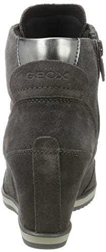 Geox Mujer A Zapatillas D Illusion Grey Para Gris dk Altas YqqrwE