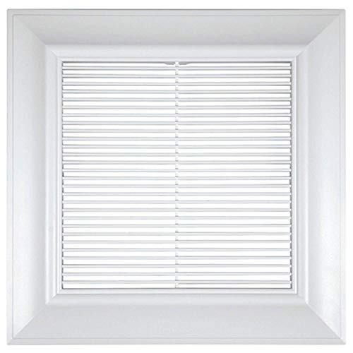 Exhaust Fan Grill - Panasonic FV-GL3TDA 13-Inch ABS Designer Vent Grille, White Finish
